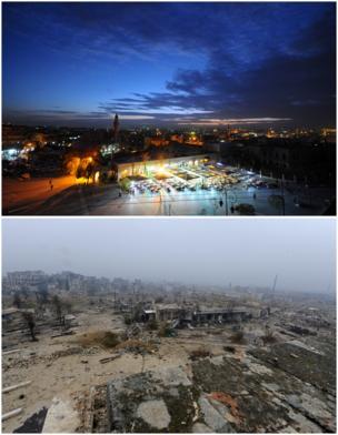 Halep Eski Şehir: Kasım 2008 / Aralık 2016