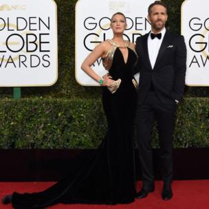 Actress Blake Lively joined husband Ryan Reynolds