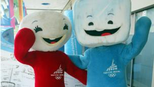 Mascots of the 2006 Olympic Winter Games