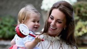 夏洛特公主和母亲