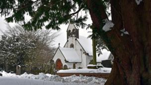 St Illtud's church, Pontypool