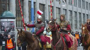 راهپیمایی روز استقلال لهستان در ورشو