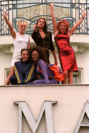 Spice girls at the Croissette