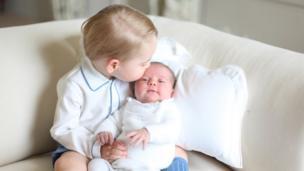乔治小王子和夏洛特公主