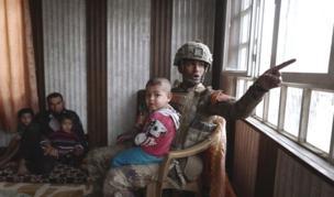 मूसल में इराक़ी सेना