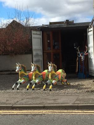 Fairground horses