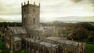 Will Lawrence captured this shot of St Davids Cathedral on his annual St David's Day visit