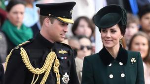Британський принц Вільям із дружиною були на параді в Лондоні.