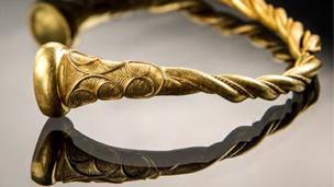 Iron Age gold torc