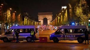 पेरिस गोलीबारी