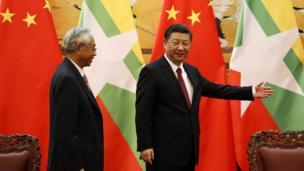 တရုတ်သမ္မတ ရှီဂျင်ပင်း က လှိုက်လှဲ ပျူငှာစွာ ကြိုဆို