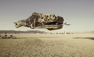 Escultura de una ballena