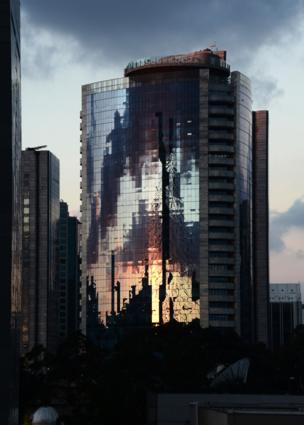 High-rise in Sao Paulo, Brazil