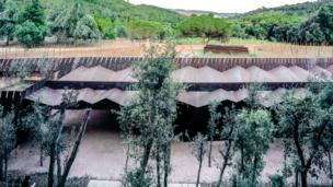 Це виноробня Белл-Ллок у муніципалітеті Паламос, Іспанія