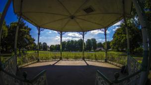 Kirkintilloch bandstand