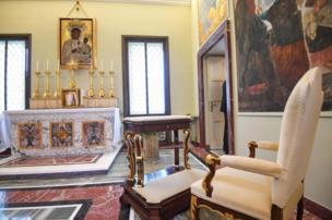 A chapel in Castel Gandolfo