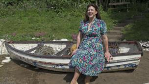 Kirstie Allsopp visits the Welcome to Yorkshire Garden