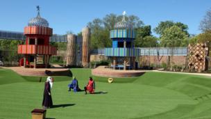 The new Magic Garden at Hampton Court.