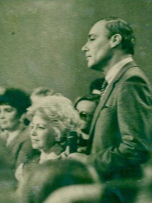 Людмила Иванова и Владимир Познер