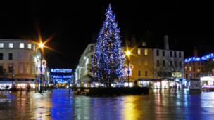 Dundee's Christmas tree