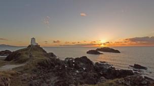 Sunset at Llanddwyn Island, taken by Gareth Thompson