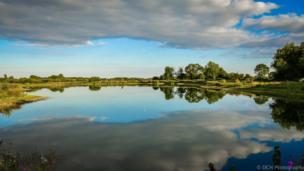 Tar Lakes on a summer Sunday evening.