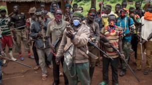 Le secrétaire général de l'ONU, Antonio Guterres, en visite en RCA, veut plus de casques bleu dans le pays déchiré par les violences.