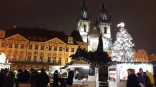 Прага, Старомест аянтындагы балаты
