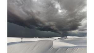 Towards Adventure - White Sand Dunes by Marek Kosiba/Photocrowd.com