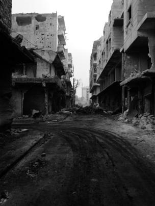 شوراع شرق حلب