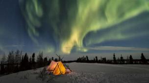 Kuzey ışıkları - Judith Conning