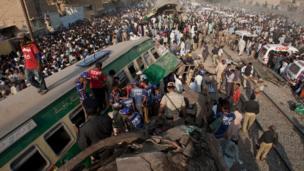 ٹرینوں کے تصادم