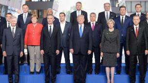صورة لزعماء العالم زاد خلال قمة الناتو في مايو/ آيار الماضي