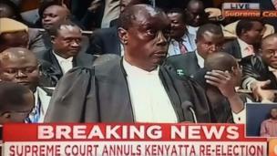 Le Kenya est le premier pays africains dont la Cour suprême de justice invalide les résultats de la présidentielle dans tout le pays.
