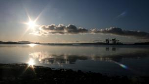 Sunset at Fairlie