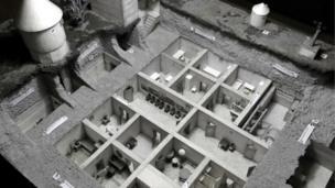 نموذج لمخبا هتلر من الداخل