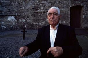 John Snee photographed in the exercise yard in Kilmainham Gaol