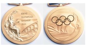 2000 medalla olímpica