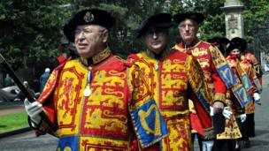 Pursuivants, Heralds and Lord Lyon
