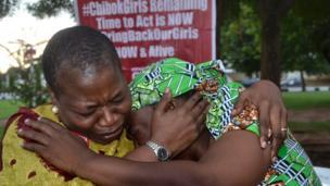 L'une des rescapées rappelle que plus de 200 filles de Chibok sont encore en captivité près de 3 ans après leur enlèvement à Boko Haram.