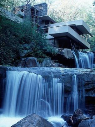 ARQUITECTURA: La increíble y polémica casa sobre una cascada de Frank Lloyd Wright