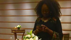 امرأة أفريقية