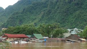 Nhà dân ở Bố Trạch, Quảng Bình