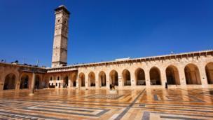 Courtyard, Đại Thánh Đường Hồi Giáo Aleppo