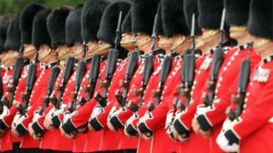 Irish Guards at Thiepval