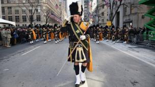 У Нью-Йорку провели 256-й парад до Дня святого Патрика.