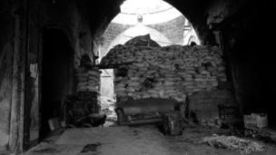 متاريس في شرق حلب