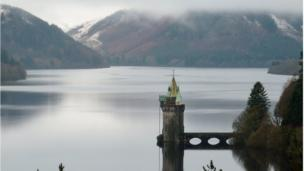 Lake Vyrnwy in Powys