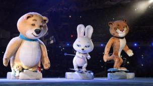 Mascots of the 2014 Winter Olympic Games