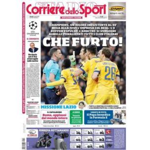 La Une de Corriere dello Sport